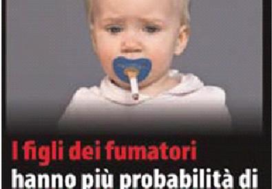 Una delle immagini choc destinate a comparire sui pacchetti di sigarette per dissuadere i  consumatori (ANSA)