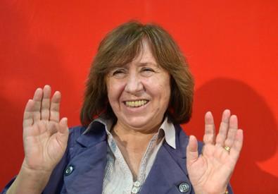 Nobel Letteratura a bielorussa Svetlana Alexievich (ANSA)