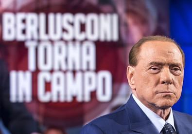 Berlusconi a Porta a Porta (ANSA)