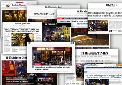 I media nel mondo (ANSA)