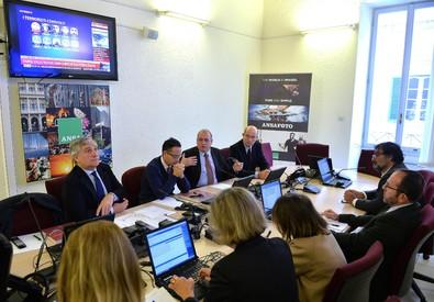 Forum all'Ansa sulle professioni con Tajani e Camporese (ANSA)