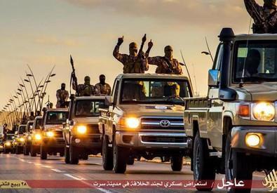 Libia: parata Isis a Sirte il 18 febbraio (ANSA)