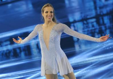 Carolina Kostner (ANSA)