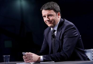 Rai Tre: Renzi alla trasmissione televisiva 'In mezz'ora' (ANSA)