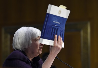 YELLEN FRENA SU RIALZO TASSI, FED VALUTERA' DI VOLTA IN VOLTA (ANSA)