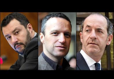 Salvini, Tosi e Zaia (ANSA)