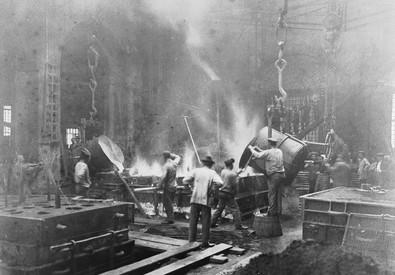 Acciaierie Fonderie Gio. Ansaldo e C., Cornigliano L. (ANSA)