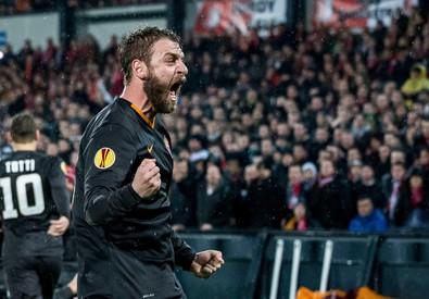 Feyenoord Rotterdam vs AS Roma (ANSA)