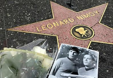 MORTO LEONARD NIMOY, SPOCK DI STAR TREK (ANSA)