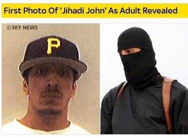 Sky News pubblica la foto di 'Jihadi John' (ANSA)