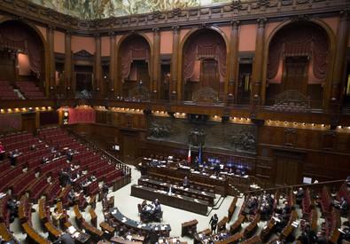 L'Aula di Montecitorio (ANSA)