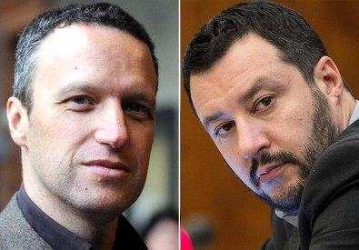 Flavio Tosi e Matteo Salvini (ANSA)
