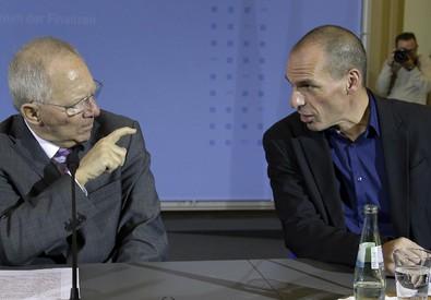 Grecia protesta con Berlino per parole Schaeuble (ANSA)