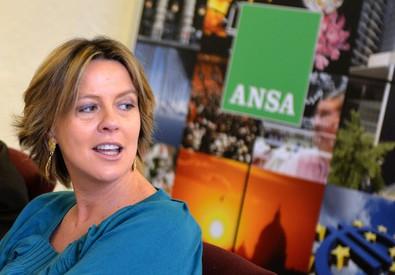 Forum ANSA con il ministro della Salute Beatrice Lorenzin (ANSA)