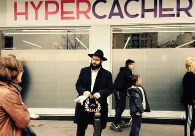Riaperto a Parigi l' HyperCacher (ANSA)