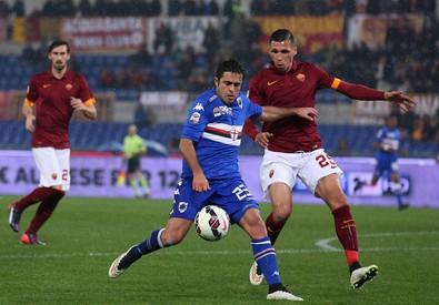 Serie A, Roma-Sampdoria (ANSA)