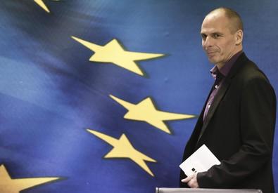 Il ministro greco delle Finanze Yanis Varoufakis (ANSA)