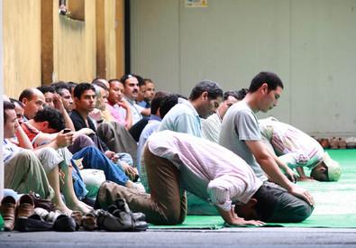 La moschea di viale Jenner a Milano (ANSA)