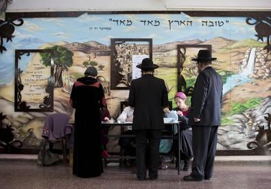 Israele al voto, ebrei ortodossi alla urne (ANSA)