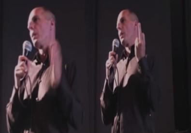 Il dito medio di Varoufakis era una bufala (ANSA)