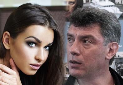 Anna Duritskaya e Boris Nemtsov (ANSA)