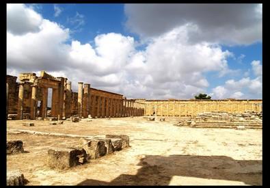 Cirene, il Quartiere Monumentale dell'Agorà; il Ptolemaion-Cesareo (ANSA)