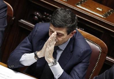 Maurizio Lupi in Aula (ANSA)