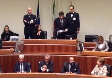 Boldrini in Consiglio regionale (ANSA)