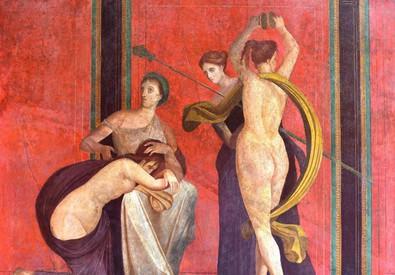 Riapre la Villa Misteri a Pompei (ANSA)