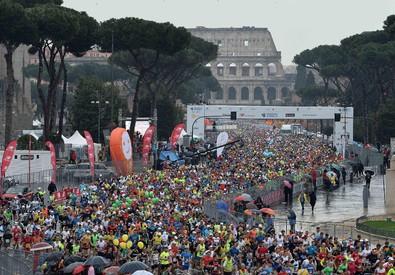 Maratona di Roma 2015 (ANSA)