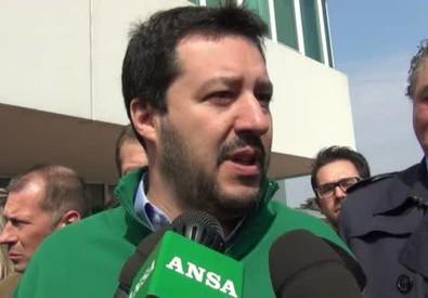 Salvini: ''Voglio bene a Berlusconi, porte aperte a Forza Italia'' (ANSA)