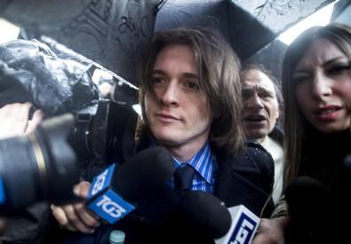 Meredith: Sollecito arriva alla Corte di Cassazione (ANSA)