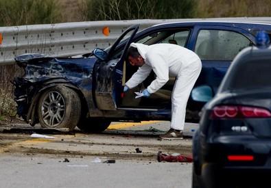 Un morto e nove feriti nella rapina di ieri a Napoli (ANSA)