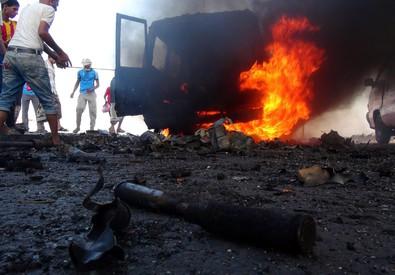 Scontri ad Aden (ANSA)