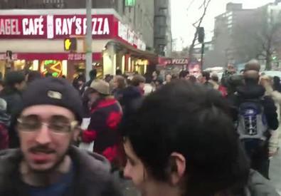 Esplode palazzo, paura a Manhattan. Almeno 19 i feriti (ANSA)