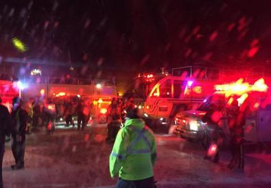 Canada: aereo esce da pista in fase di atterraggio, feriti (ANSA)