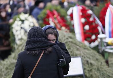 Funeral of Boris Nemtsov (ANSA)