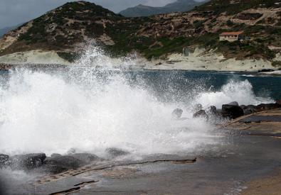 Maltempo in Sardegna (ANSA)