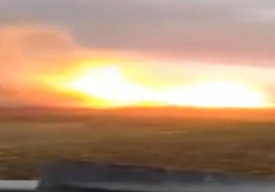 Abruzzo, esplode gasdotto (ANSA)
