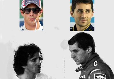 Senna e Prost di nuovo insieme, ma sono gli 'eredi' (ANSA)