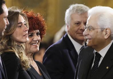 Boschi, Fedeli e Mattarella (ANSA)