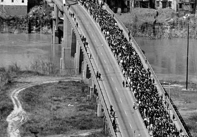 Gli Usa celebrano  i 50 anni dalla marcia di Selma (ANSA)