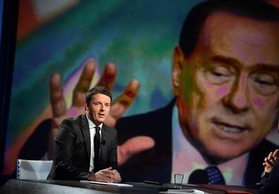 Il presidente del Consiglio, Matteo Renzi, durante la trasmissione Rai 'In 1/2 Ora' (archvio) (ANSA)