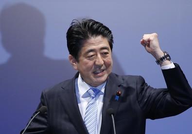 Shinzo Abe (ANSA)
