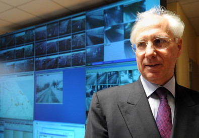 L'amministratore unico di Anas Spa, Pietro Ciucci, in una immagine d'archivio (ANSA)