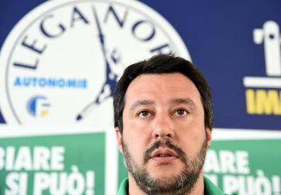 Matteo Salvini in una foto d'archivio (ANSA)