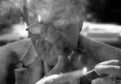 Il premio Nobel per la letteratura, Gunter Grass, in una foto d'archivio (ANSA)