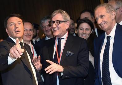 Renzi al Salone del Mobile a Milano (ANSA)