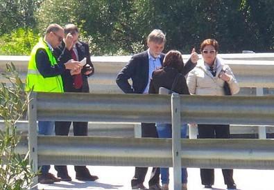 Cede pilone: Delrio, intero ponte sarà demolito (ANSA)