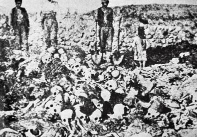 Il genocidio degli armeni (ANSA)